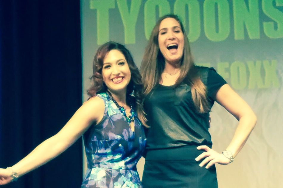 Holly and Facebook pioneer, author, and angel investor, Randi Zuckerberg