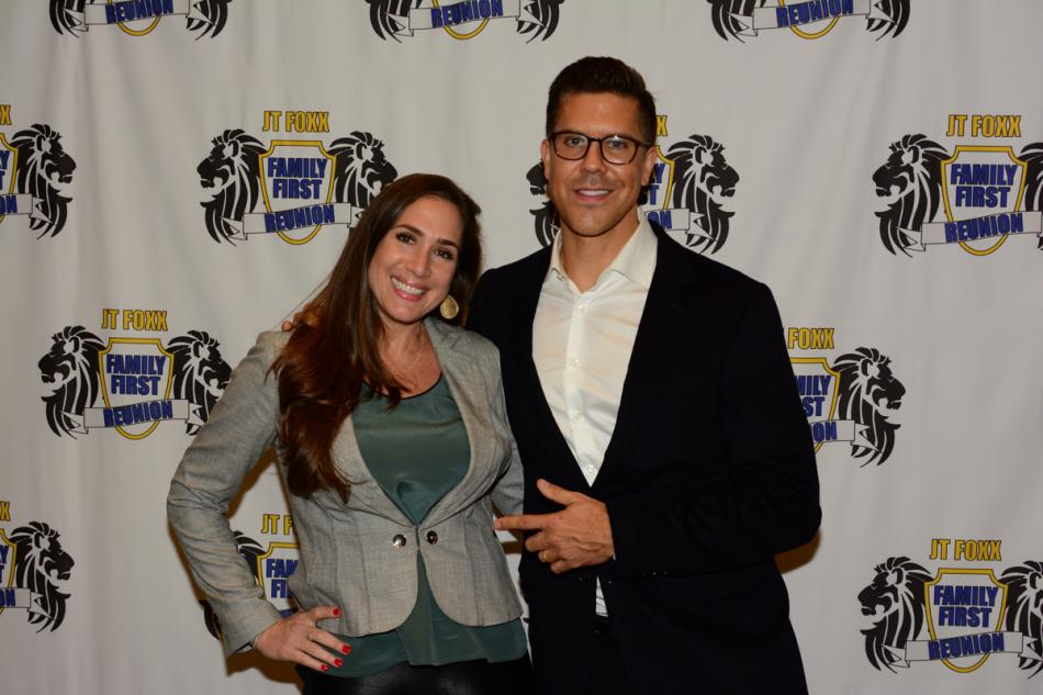 Holly with entrepreneur and reality TV star Frederik Ecklund