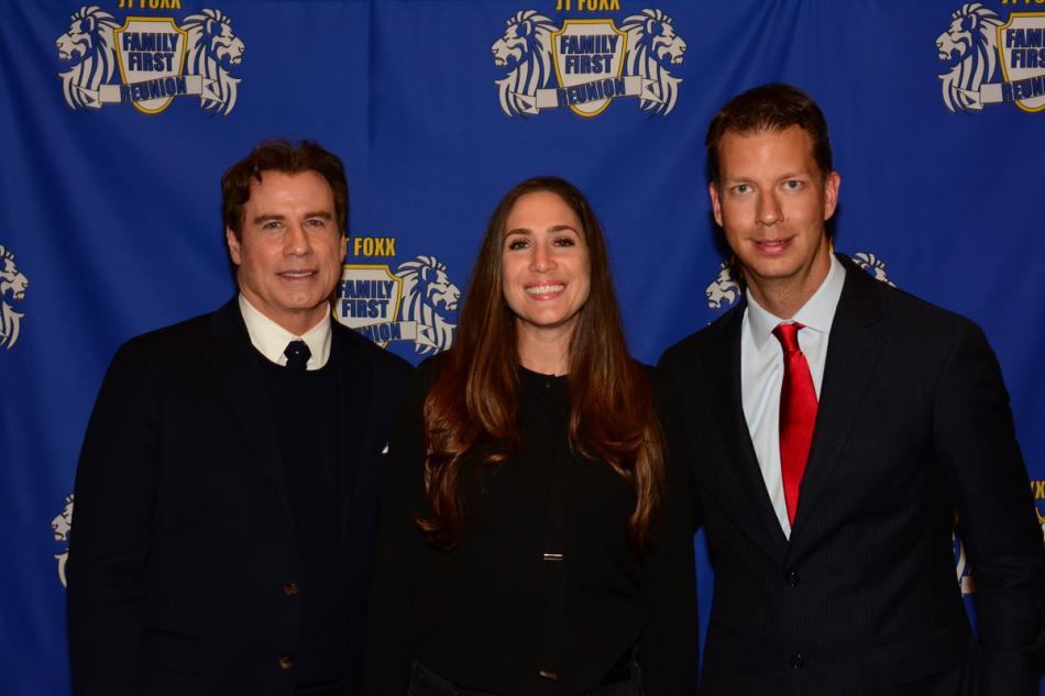 Holly and actor John Travolta