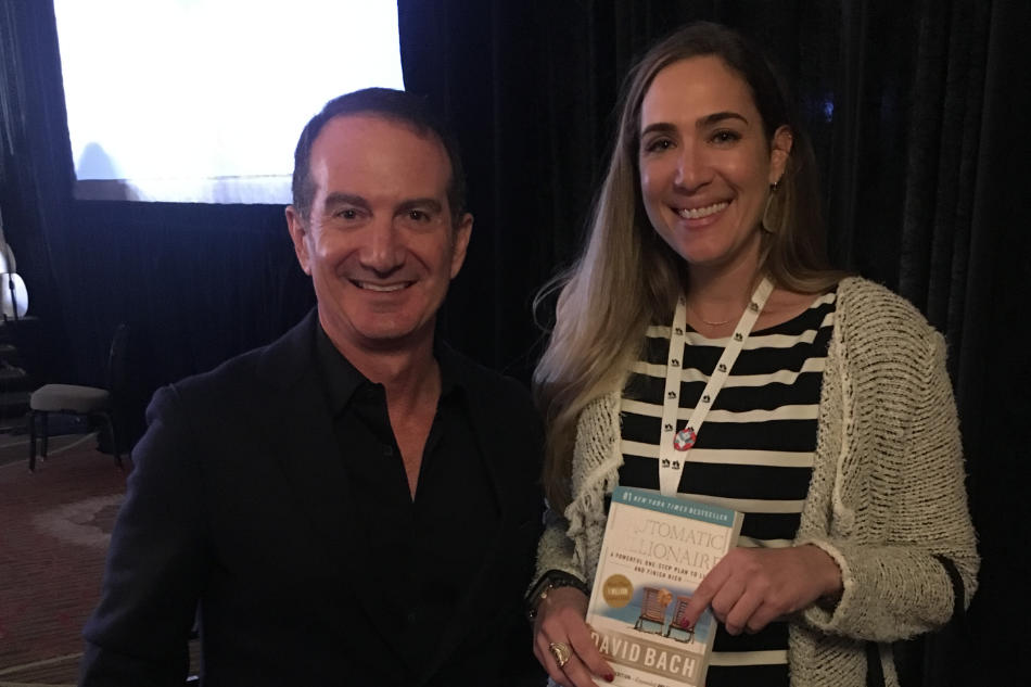 Holly and David Bach, author of The Automatic Millionaire