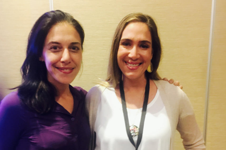 Holly and Amanda Steinberg, founder of Daily Worth and WorthFM