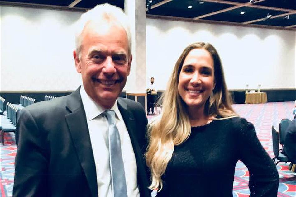 Holly and Hugh Hilton, real estate mogul